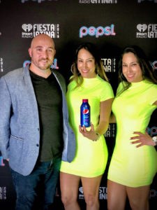 Good times with Luis from team Pepsi!